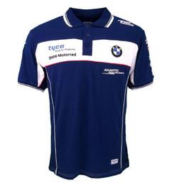 TKOSM 2018 T-shirt Da Motocicleta BMW Moto GP T-shirt Motocross Azul e Vermelho Cross Country T-shirt Wicking Perspiração Corrida Camisa Da Motocicleta