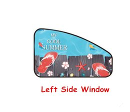 China Magnetic Car Sun Protector Side Window Sunshade Curtain Adjustable Sunscreen Protected From Sunlight And UV Rays Slipper suppliers