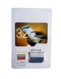 64gb microsd memory cards NZ - The lastest Hot popular Class 10 EVO 128GB 64GB 32GB 16GB SD Card MicroSD TF Memory Card C10 Flash SD Adapter Retail Package
