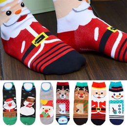 Boys Costume Accessories Novelty & Special Use Merry Christmas Unisex Low Cut Ankle Socks 19x8cm 3d Printed Xmas Pattern Sock Cute Baby Girl Casual Cotton Sock