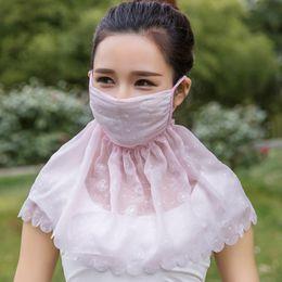 $enCountryForm.capitalKeyWord Australia - Thin Large Summer Scarves Neckerchief Anti Uv Dust Masks Riding Female Neck Protector Outdoor Breathe Freely Sunshade Mask