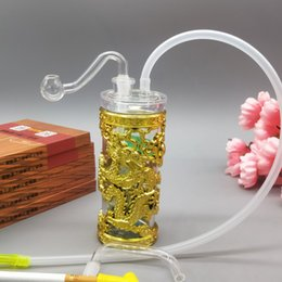 12cm Bong NZ - 12cm Panlong acrylic plastic pipe, smoker, pipe, water, smoke, gun, hookah, cigarette, bottle, Bong.