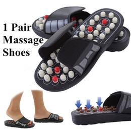 Acupoint mAssAger online shopping - New Arrival Foot Massage Slippers Acupuncture Therapy Massager Shoes for legs Acupoint Activating Reflexology Feet Care massageador Sandal