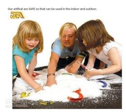 $enCountryForm.capitalKeyWord Australia - Cheap DIY Instant Artificial Snow Powder Simulation Fake Snow for Party Christmas Decoration Free Shipping 1 Kilogram lot