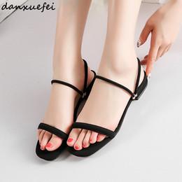 $enCountryForm.capitalKeyWord Canada - Women's Genuine Suede Leather Slip-on Flats Sandals Brand Designer Leisure Summer Sandalias Shoes for Women Female Footwear Sale