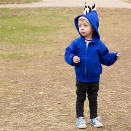 $enCountryForm.capitalKeyWord Australia - Dinosaur Hoodies Coat 2018 New Kids Jackets & Coat Boys Girls Outerwear Hot Sale Baby Cardigan Spring Autumn Winter Sweatshirts