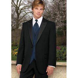 bridegroom wedding suits grey 2019 - Black Mandarin Lapel Best Man Groomsmen Men Wedding Suits Prom Form Bridegroom mens suit 2017 ( jacket+Pants+vest+tie) c