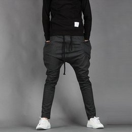 $enCountryForm.capitalKeyWord Canada - New Mens Boys Fashion Harem Sports Dance Sweatpants Big Pockets Pants Baggy Jogging Casual Trousers Male costume new men's foot
