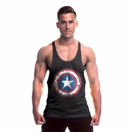 White Workout clothes online shopping - O Neck New Men Gyms Tank Top Brand Clothing Bodybuilding Fitness Golds Vest Stringer Sportswear Undershirt Cotton Workout Gyms Shirts