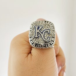 1eef14f50 New Arrival Champions ring 2015 Kansas City Royals World Champion Fan Ring  Fan Gift high quality wholesale Drop Shipping