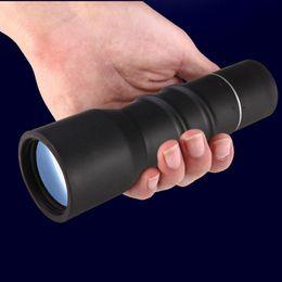 ConCert binoCulars online shopping - SUNCORE Monocular Outdoor Travel Telescope Waterproof Portable Powerful Zoom BAK4 Monocular Telescope For Huntering Concert DHL Free