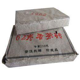 China More Than 50 Years Old Puerh Tea Made in 1962 Year Tea Brick pu er Ripe puer organic tea cheap made organic suppliers