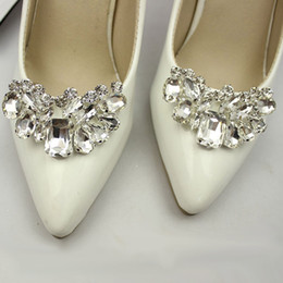 1 Piece Rhinestone Shoe Decoration Wedding Crystal Shoe Clips Charms  Stylish Elegant Shoes Accessories For Women s High Heels 209dfca6e77f
