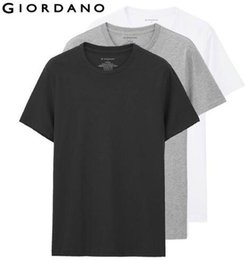 $enCountryForm.capitalKeyWord Australia - Solid Men T Shirt Short Sleeves 3-Pack Undershirt Male Solid Cotton Mens Tee Summer Jersey Brand Clothing Sous Vetement Homme