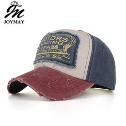 9d9ef42bbb497 JOYMAY Spring Cotton Baseball Caps New Summer Casual Snapback Hat Hot Sale  Hip Hop Fitted Hats For Men Women B553 Mix Order