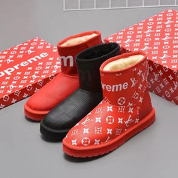 $enCountryForm.capitalKeyWord Australia - vvtisks5 real hot new wool snow boots fashion men Women Riding Rain Boot BOOTS BOOTIES SNEAKERS Dress Shoes