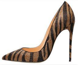 $enCountryForm.capitalKeyWord NZ - leopard Girls Women Dress Pumps High Heels Heeled Shoes 8cm 10cm 12cm Sexy Pointed Toe Party Fashion Crystal Big Size High Quality 513