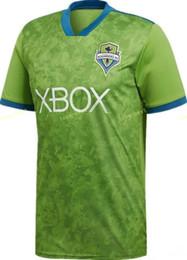Chinese  FC Seattle Sounders Soccer 2 Clint Dempsey Jersey Men Team Green 7 Cristian Roldan 13 Nicolas Lodeiro 29 Roman Torres Football Shirt Kits manufacturers