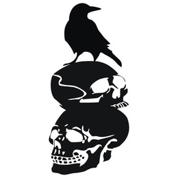 $enCountryForm.capitalKeyWord UK - Wall Decal Crow Black Wall Sticker For Home Decor Mural Art Painting Wall Stickers Vinyl Decor Decals