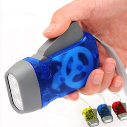 $enCountryForm.capitalKeyWord Australia - 3 LED Traveling Torch Light Battery-Free Product Manual Generator Camping Lights Hand Crank Flashlight