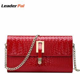 $enCountryForm.capitalKeyWord Canada - 100% Geniune Leather Clutch Purse Vintage Small Evening Clutch Bag Red Bridal Wedding Party Purse Women Leather Handbags