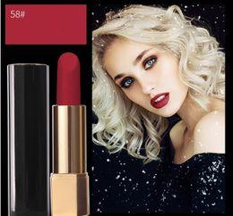 Top ouTleTs facTory online shopping - factory Outlet newest A top quality rouge velvet lipstick g luminous matte lip colour colors Aluminum tube pressing lipstick