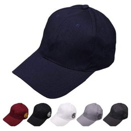 280207d1c2d8 2018 Baseball Cap NY Embroidery Letter Sun Hats Long brim Adjustable  Snapback Hip Hop Dance Hat Summer Outdoor Men Women Visor