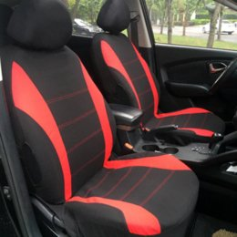 Blue Gray Car NZ - Interior Accessories Car Seat Covers Compatible with 95% Vehicles Seat Cover For Lada Volkswagen Red Blue Gray Seat Protector