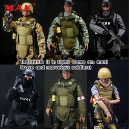 Action & Toy Figures Plastic Military Battle Soldier Action Figure Model Set Toy Men Sandbox Game Corps Ship Tanks Accessories Suit Adults Toys Gift To Enjoy High Reputation At Home And Abroad