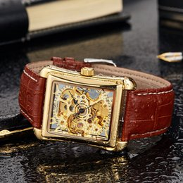 $enCountryForm.capitalKeyWord NZ - OUYAWEI Brand Mechanical Watch Military Automatic WristWatches Leather Strap Men Watch Self Wind Skeleton Watch For Men OYW07