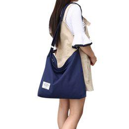 $enCountryForm.capitalKeyWord Australia - Women's Canvas Hobo Shoulder Bag Handbags Simple Casual Top Handle Tote Bag Crossbody Shopping Work Bags for Women 2018