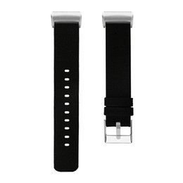 Kaliteli Saat Kayışı Değiştirme Dokuma Tuval Kumaş Watch Band Bilek Kayışı Fitbit Şarj 3 Band Için