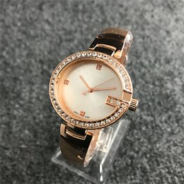 Gold thin bracelets online shopping - 36mm Ultra thin diamond watches womens rose gold Bracelets top brand luxury ladies dresses casual Designer wristwatch gifts for girls