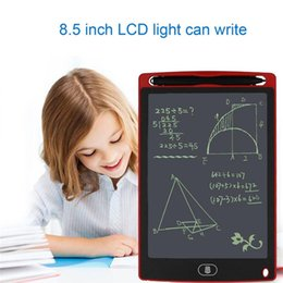 Christmas memo pads online shopping - 8 inch LCD Writing Tablet Memo Drawing Board Blackboard Handwriting Pads With Upgraded Pen for Kids Office One Butt Christmas gifts