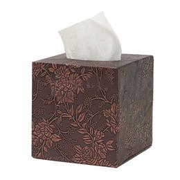 $enCountryForm.capitalKeyWord UK - Square Leather Home Room Car Hotel Tissue Box Cover Paper Napkin Holder Case