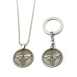 Shop firefly pendant uk firefly pendant free delivery to uk hsic game the last of us keychain double sided firefly antique silver round metal pendant key holder figures chaveiro xmas gifts aloadofball Image collections