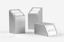 Number Blocks Australia - Jewelry Price Tag Display Rack Number Cubes Figure Number Stand Desk Sign Holder Table Shelf Talker Metal Block Frame Aluminium Label Holder