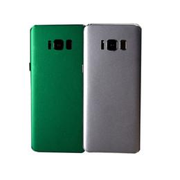 c86f202fabc62 Etiqueta engomada del teléfono celular Pieles enteras del cuerpo Protector  de las pieles de la contraportada de la película de hielo para iPhone X    8 7 ...