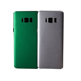 Сотовый телефон наклейка полное тело шкуры льда фильм задняя крышка шкуры протектор для iPhone Х/8/7/6s / 6 плюс Samsung S8 плюс