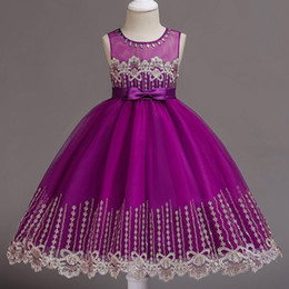 $enCountryForm.capitalKeyWord NZ - Arabic Floral Lace Flower Girl Dresses Ball Gowns Child Pageant Dresses Appliques Beautiful Little Kids Flower Girl Dress Formal 2018