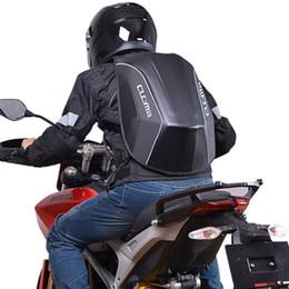 $enCountryForm.capitalKeyWord NZ - High Quality Waterproof PVC Black Motorcycle Motorbike Outdoor Travel Sport Bag Backpack