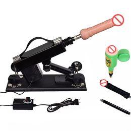 Vibrator Machine Woman Australia - Male Masturbator Automatic Retractable Sex Machine With Dildo Vibrator Masturbation Cup Adjustable Speed Sex Toys for Men Women