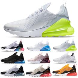 super popular 89e59 b7256 Nike Air Max 270 Haute qualité Mens Triple Noir 270 AH8050 Trainer  Chaussures de sport Womens sole 270 chaussures de Sneakers taille EUR 36-45