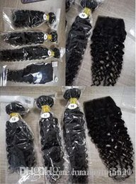 indian remy afro kinky hair weave NZ - Brazilian hair weave bundles afro kinky curly 100% Human Hair 4 Bundles Remy Extensions Yongtai free shipping be dyed