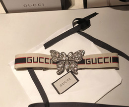 Steel belt woman online shopping - butterfly buckle luxury belts designer genuine Elastic webbing belt for women Color bar pattern belt female dress belts womens strap belt