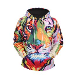 0391b24e25a8 ONSEME Funny Animals Printed 3D Hooded Sweatshirts Cool Tiger Lions Cats  Doge Hoodies Mens Fashion Hoodie Tracksuit Pullovers