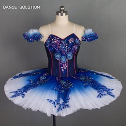 $enCountryForm.capitalKeyWord NZ - Blue Bird Professional Ballet Dance Tutu Dress Customized Classical Ballet Tutus for Women Solo Dance Pancake Tutus B18030
