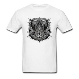 Wholesale assassins t shirt for sale – custom Assassins T shirt Nothing Is True Punk T Shirt Men Creed Tshirt Summer Epic Game Clothing Vintage Graphic Tops Tees