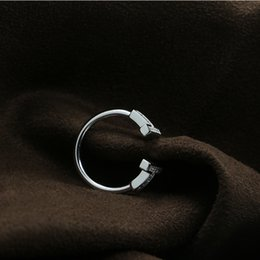 $enCountryForm.capitalKeyWord NZ - 925 sterling silver new explosions double T coil ring