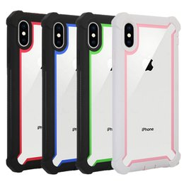 Phone clear full case online shopping - For Iphone XR Case Full Body Clear Soft TPU Hard PC Back Cover Phone Case for Iphone XS XS Plus